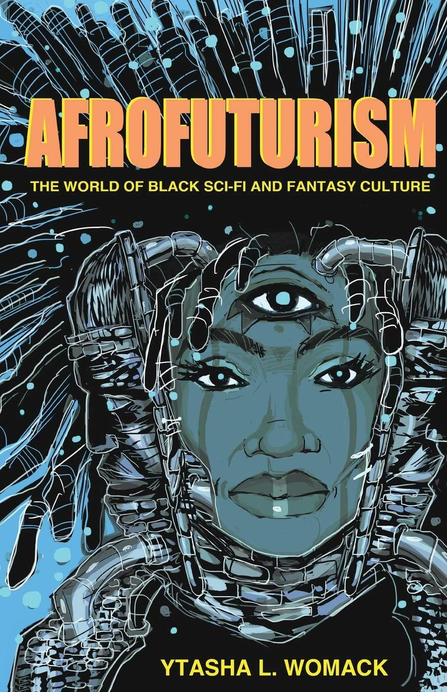 Book cover for Afrofuturism