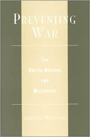 Book cover for Preventing War