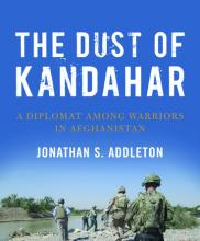 The Dust of Kandahar book cover